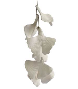 KIDDEE TAMDEE Ceramic Garland Refreshment - Ginko Leaf