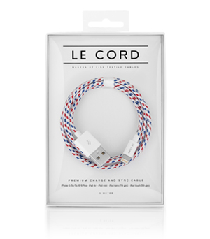 LE CORD Textile Cable - Spiral