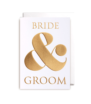 LAGOM / POSTCO CARD - Bride & Groom
