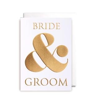 LAGOM / POSTCO CARD - Bride & Groom