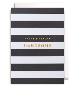 LAGOM / POSTCO Card - Happy Birthday Handsome