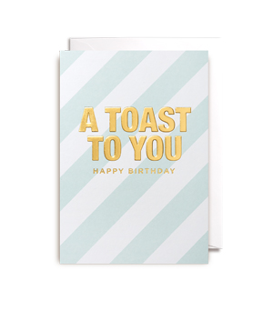 LAGOM / POSTCO CARD - A Toast To You