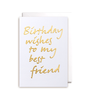 LAGOM / POSTCO CARD - Birthday Wishes To My Best Friend