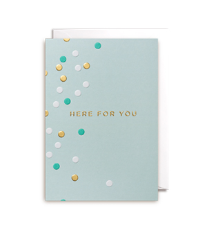 LAGOM / POSTCO CARD - Here For You