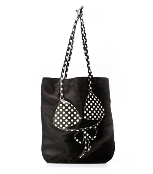 MOLA Bikini Beach Bag - Black