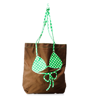 MOLA Bikini Beach Bag - Brown