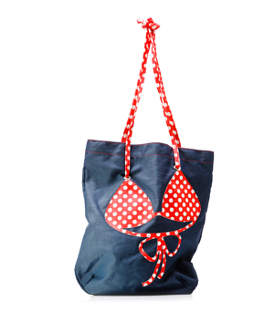 MOLA Bikini Beach Bag - Navy Blue
