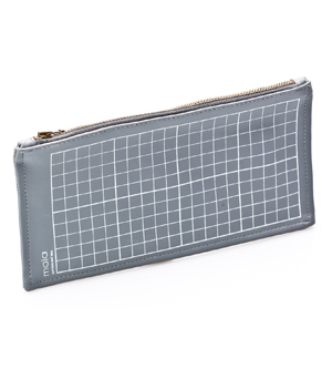 MOLA 'Cutting Mat Style' Pencil Case - Grey