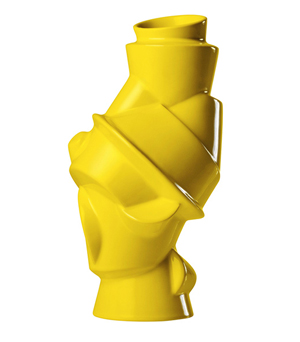MUUTO Closely Seperated Vase - Strong Yellow