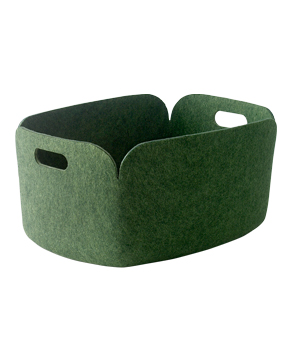 MUUTO Restore Storage Basket - Green