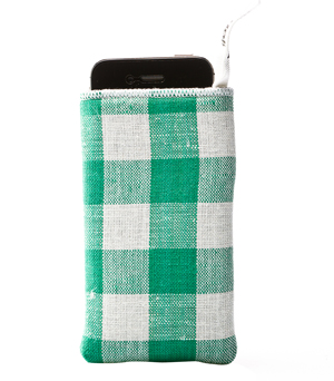PIJAMA iPhone/Camera Case - Picnic Green