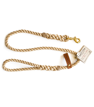 RESQ/CO Leash 'The Strong' - Natural