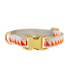 "SEE SCOUT SLEEP Collar 1/2"" - Nice Grill Cream Vermillion"