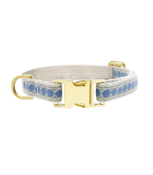 "SEE SCOUT SLEEP Collar 1/2"" - You're a Stud Cream Blue"