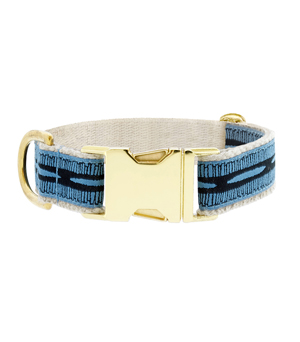 "SEE SCOUT SLEEP Collar 1"" - Braveheart Blue Black"