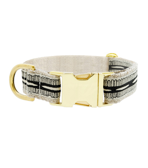 "SEE SCOUT SLEEP Collar 1"" - Braveheart Cream Black"