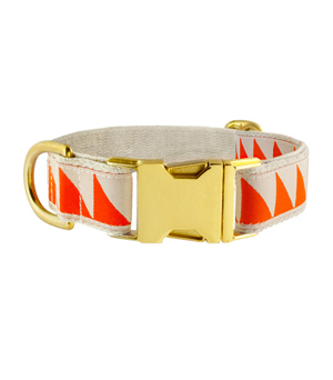 "SEE SCOUT SLEEP Collar 1"" - Nice Grill Cream Vermillion"