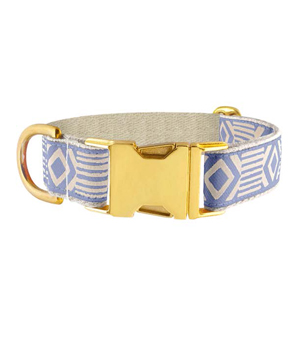 "SEE SCOUT SLEEP Collar 1"" - Out of my Box Blue Cream"