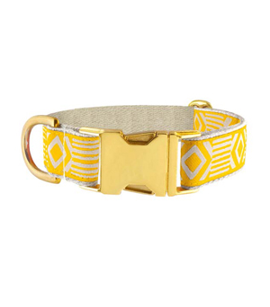 "SEE SCOUT SLEEP Collar 1"" - Out of my Box Marigold Cream"