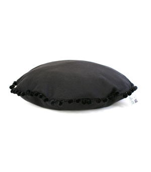 SEE SCOUT SLEEP Pet Island Bed - Black Canvas