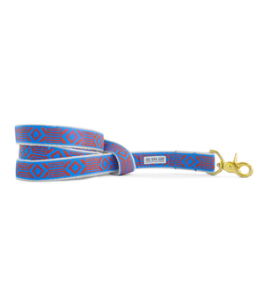 "SEE SCOUT SLEEP Standard Leash 1"" - Ouf of my Box Blue Rust"