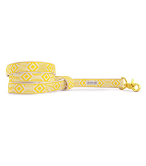 "SEE SCOUT SLEEP Standard Leash 1"" - Out of my Box Marigold Cream"