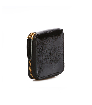 TAXIDERMY Coin Wallet - Black (patent)