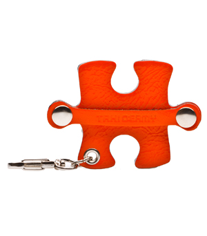 TAXIDERMY Jigsaw Cord Organiser - Orange
