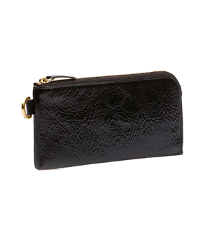 TAXIDERMY Long Wallet - Black (Patent)