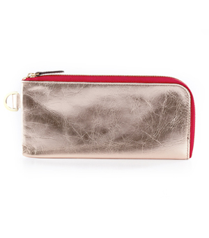 TAXIDERMY Long Wallet - Metallic Pink