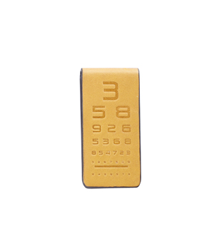 TAXIDERMY Military Money Clip - Eye Test Tan