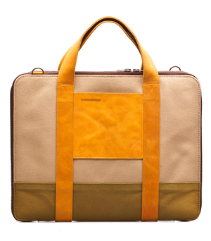 TAXIDERMY Military Brief Bag - Green