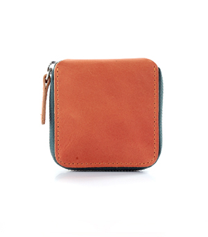 TAXIDERMY Military Coin Wallet - Orange