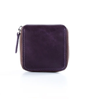 TAXIDERMY Military Coin Wallet - Purple