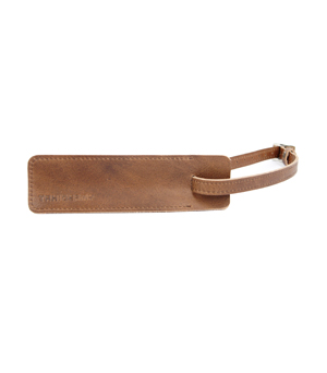 TAXIDERMY Military Luggage Tag - Brown
