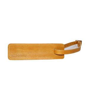 TAXIDERMY Military Luggage Tag - Tan