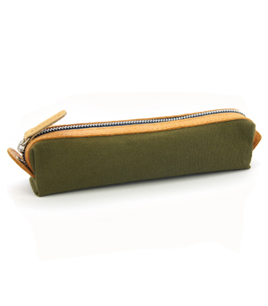 TAXIDERMY Military Pencil Case - Green