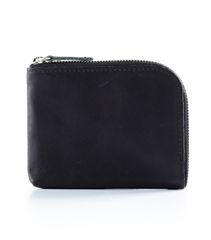 TAXIDERMY Military Square Wallet A - Black