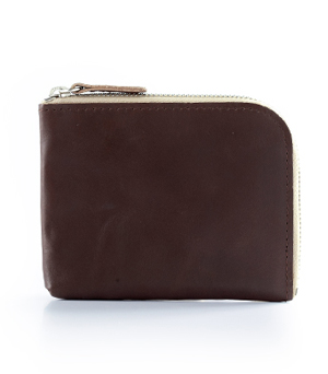 TAXIDERMY Military Square Wallet A - Brown