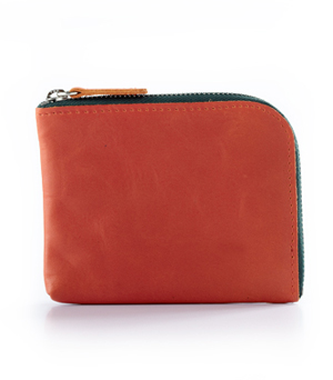 TAXIDERMY Military Square Wallet A - Orange