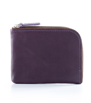 TAXIDERMY Military Square Wallet A - Purple
