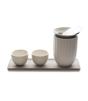 TOAST LIVING Lotus Tea Set