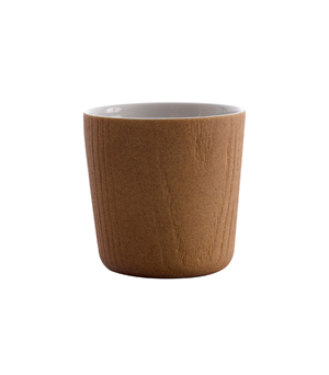 TOAST LIVING MU Tea Cup (Set of 2) - Oak