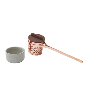 TOAST LIVING Weaver Tea Infuser - Copper