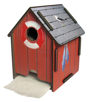 WERKHAUS Tissue Paper House - Boat Shed