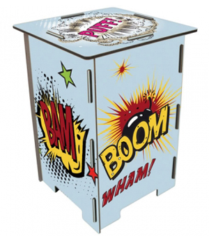 WERKHAUS Photohocker (Stool) - Bang, Boom, Bam!