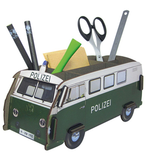 WERKHAUS Photo Pen Box VW Bus - Polizei