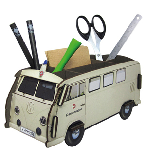 WERKHAUS Photo Pen Box VW Bus - Krankenwagen