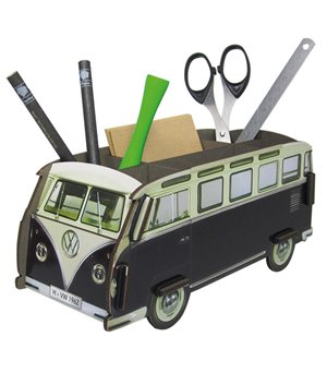 WERKHAUS Photo Pen Box VW Bus - Black