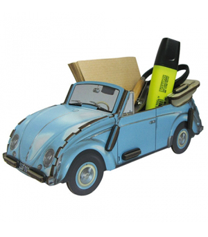 WERKHAUS Photo Note Box VW Beetle - Blue